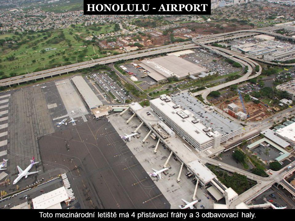 Toto mezinárodní letiště má 4 přistávací fráhy a 3 odbavovací haly.