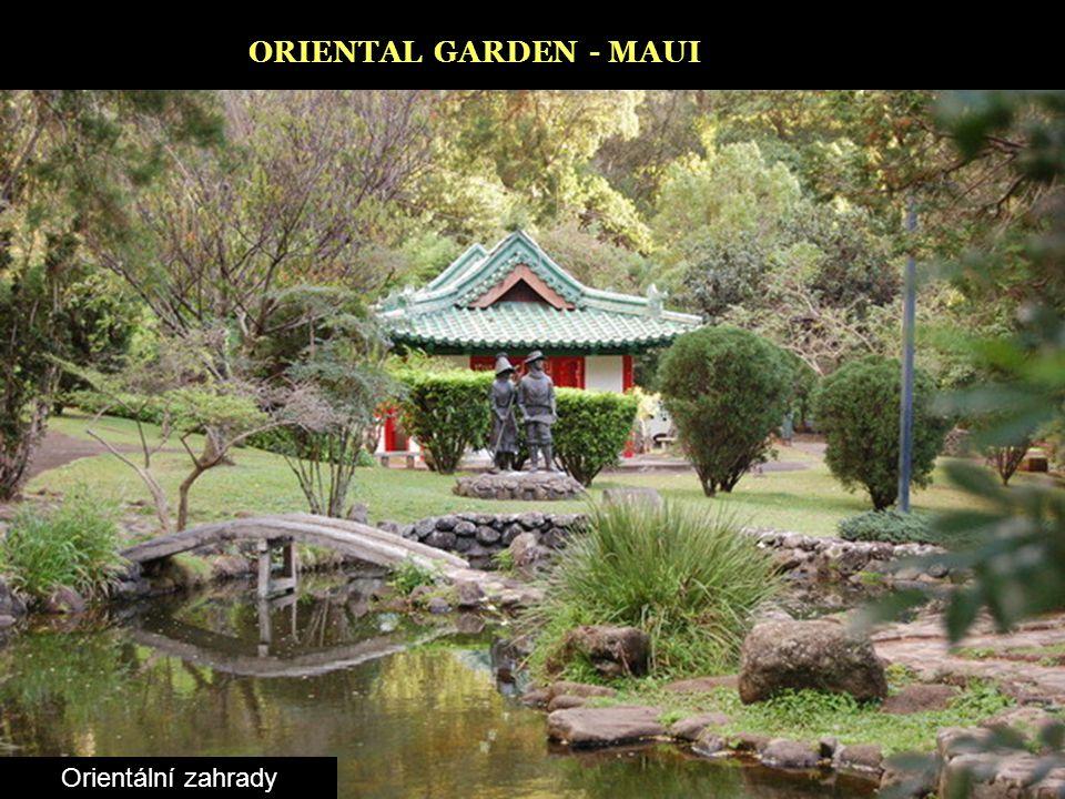ORIENTAL GARDEN - MAUI Orientální zahrady