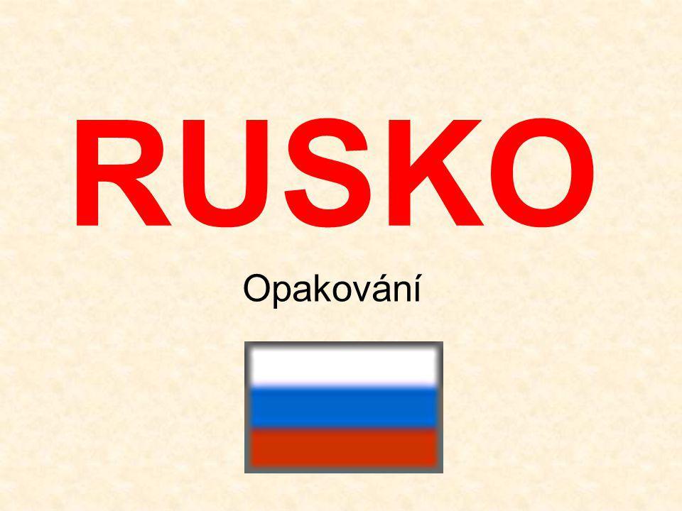 RUSKO Opakování