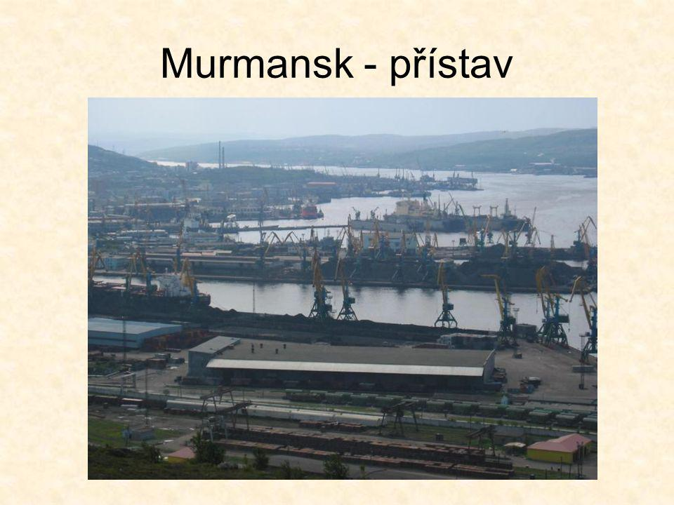 Murmansk - přístav