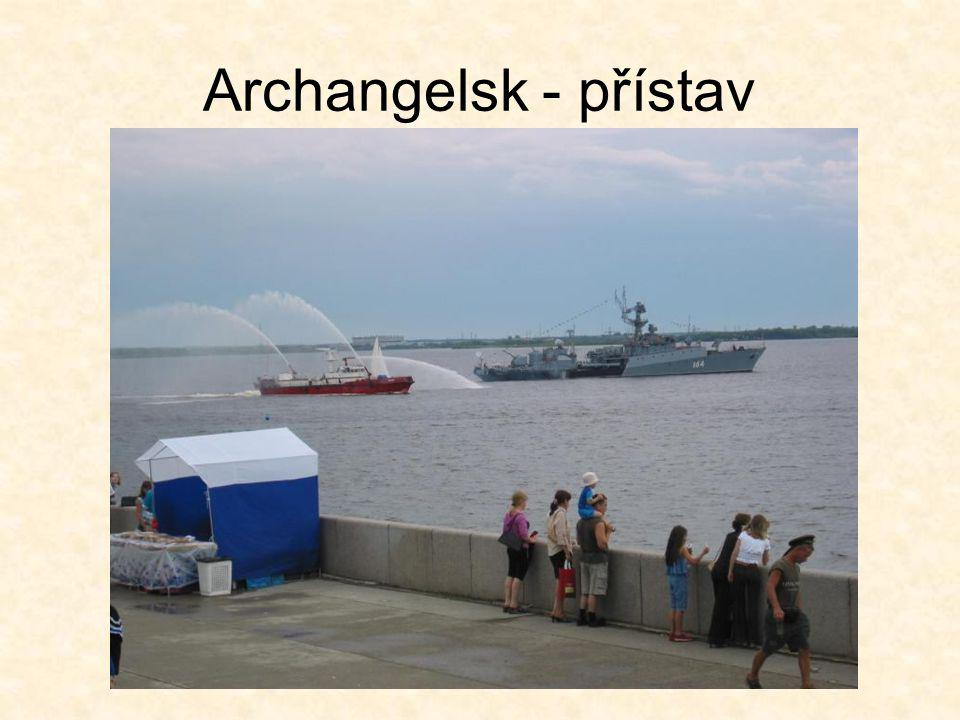 Archangelsk - přístav