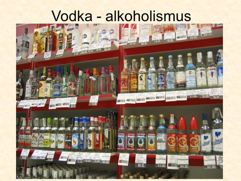 Vodka - alkoholismus