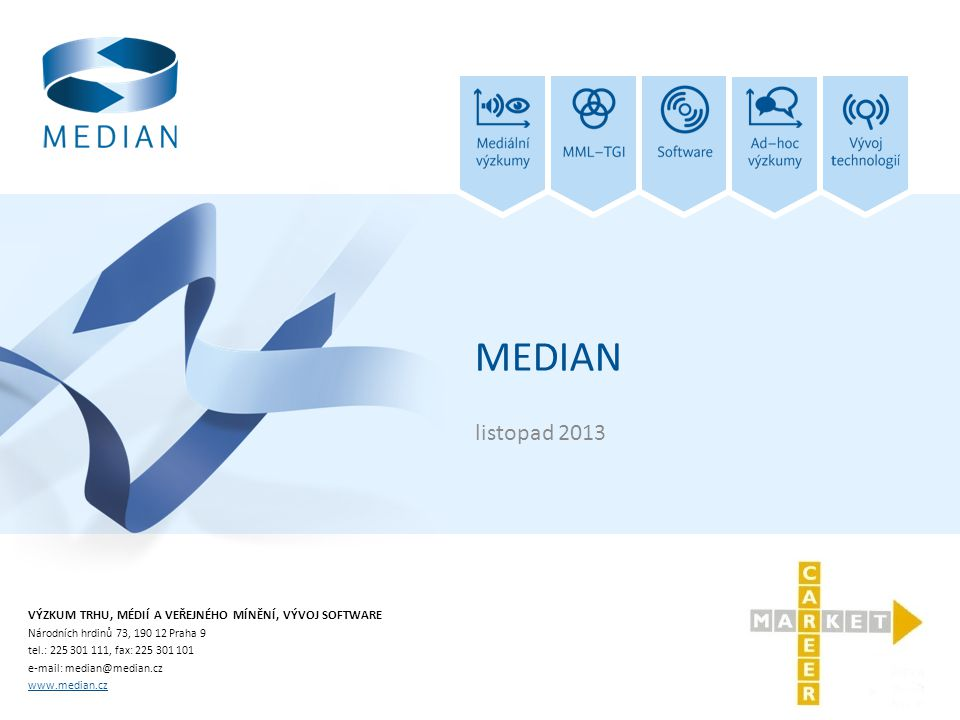 MEDIAN listopad 2013