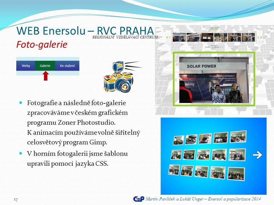 WEB Enersolu – RVC PRAHA Foto-galerie