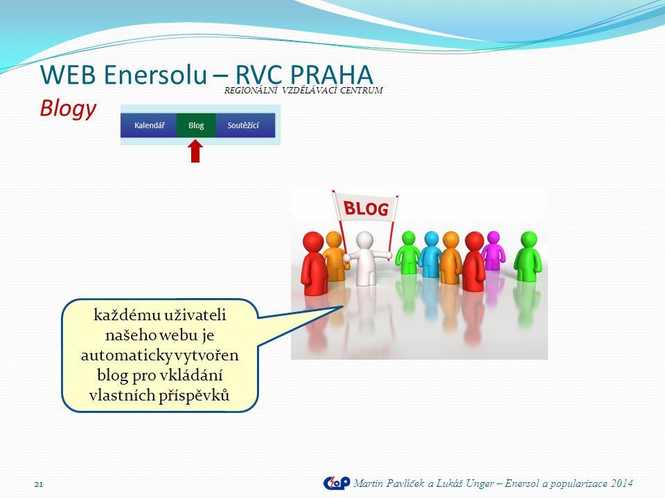 WEB Enersolu – RVC PRAHA Blogy