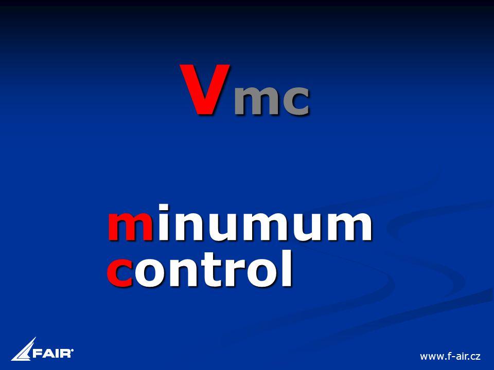 Vmc minumum control www.f-air.cz