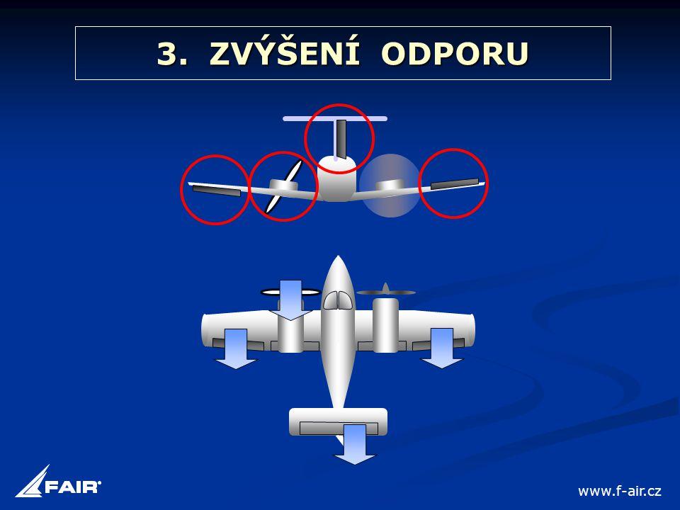 3. ZVÝŠENÍ ODPORU www.f-air.cz