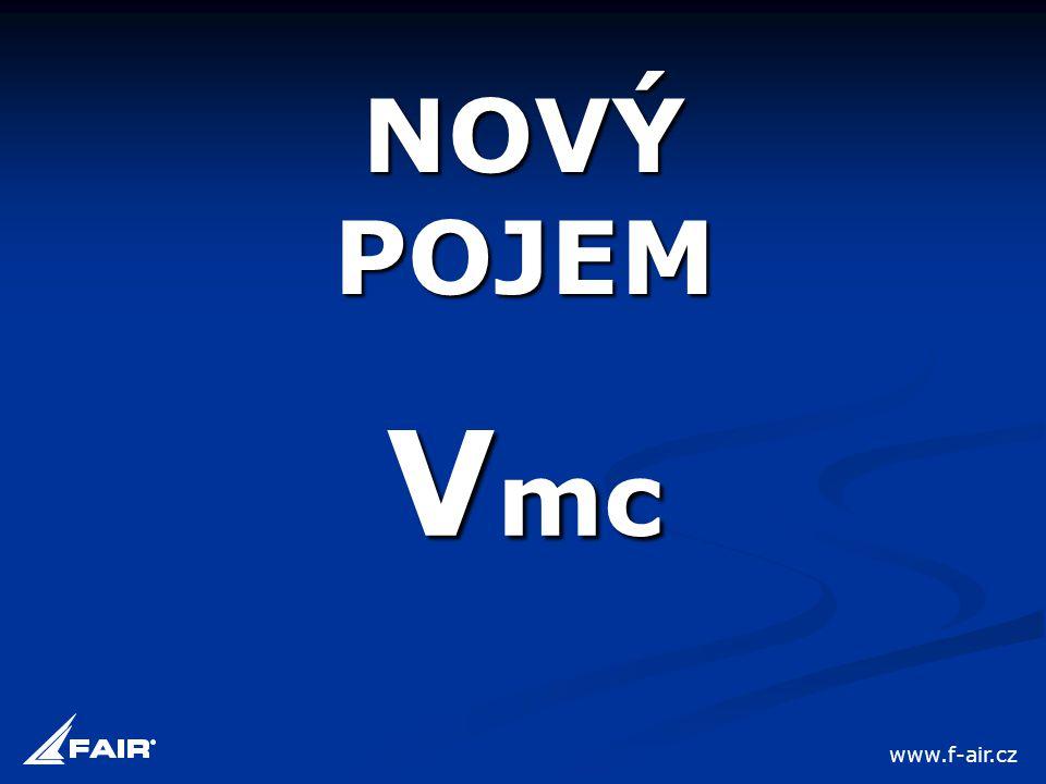 NOVÝ POJEM Vmc www.f-air.cz