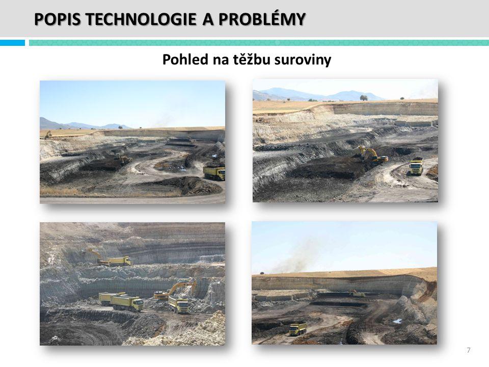 Pohled na těžbu suroviny