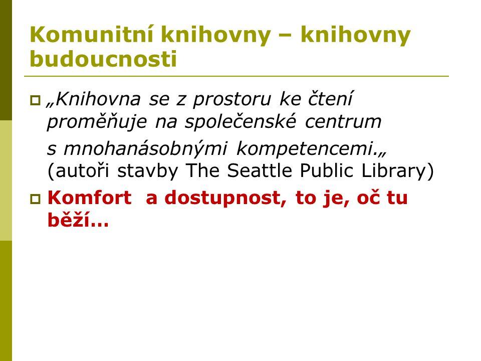 Komunitní knihovny – knihovny budoucnosti