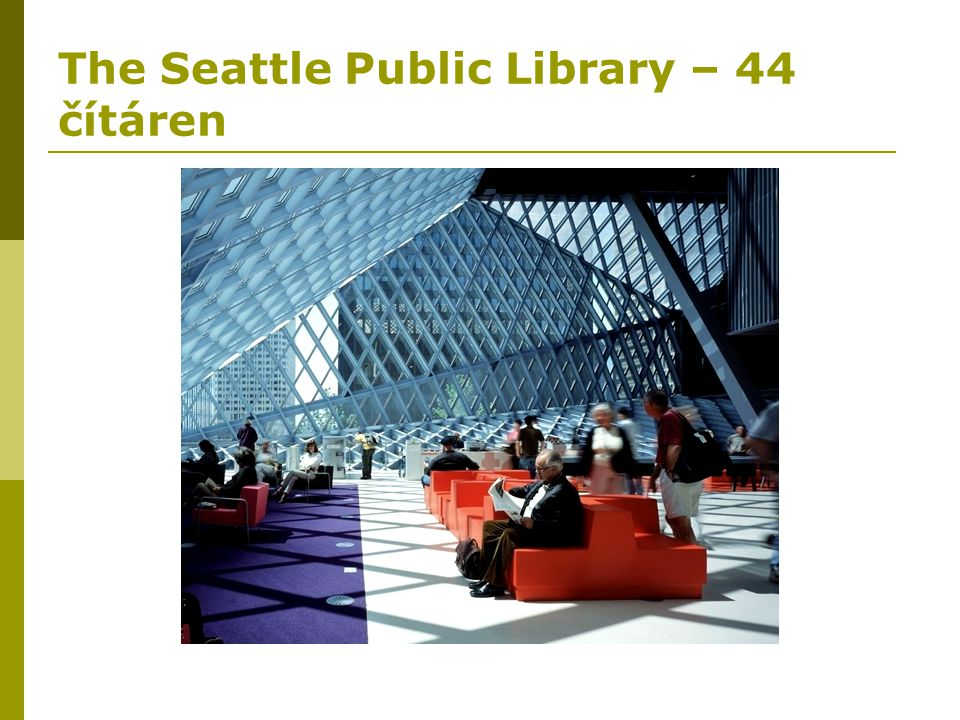 The Seattle Public Library – 44 čítáren