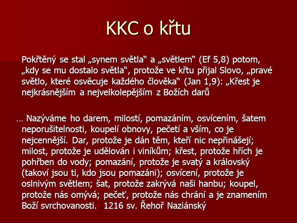 KKC o křtu