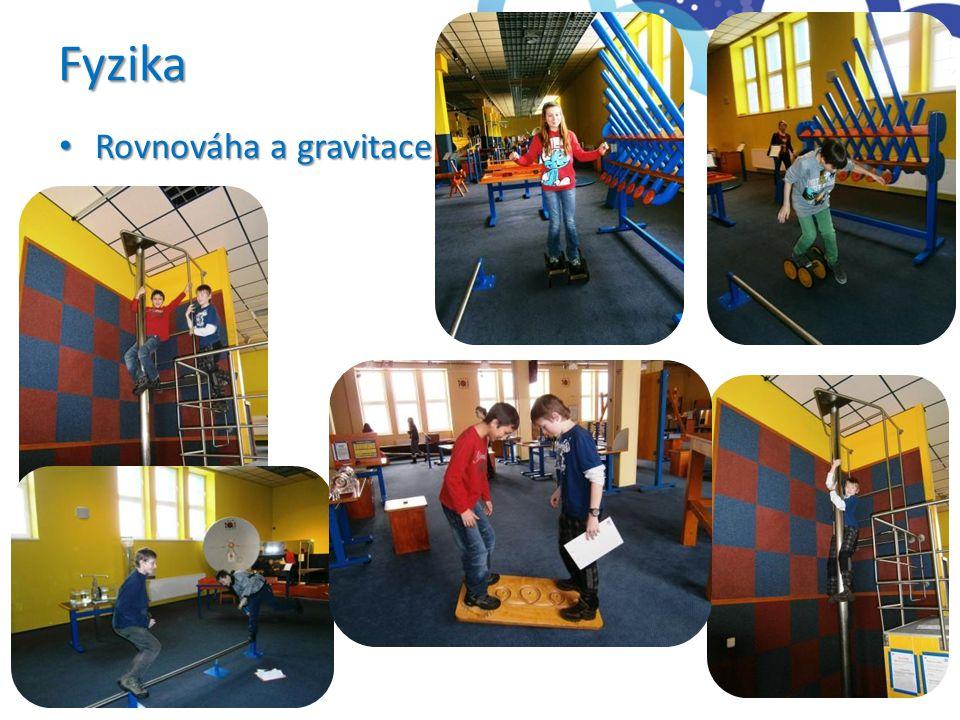 Fyzika Rovnováha a gravitace