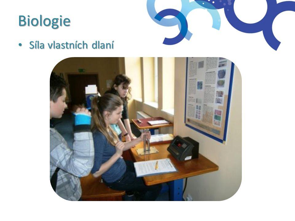 Biologie Síla vlastních dlaní