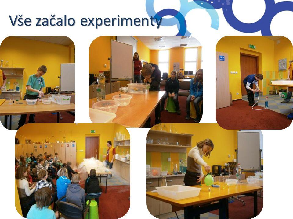 Vše začalo experimenty