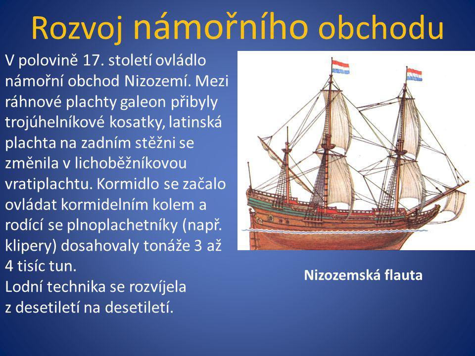 Rozvoj námořního obchodu
