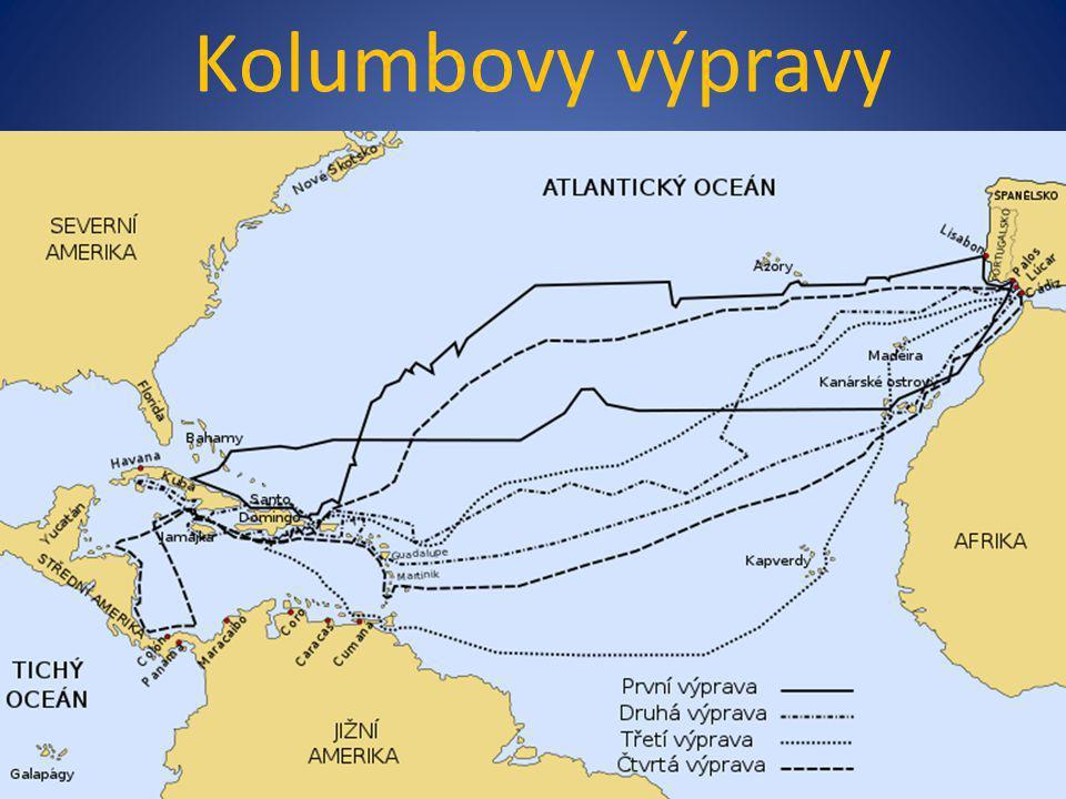 Kolumbovy výpravy