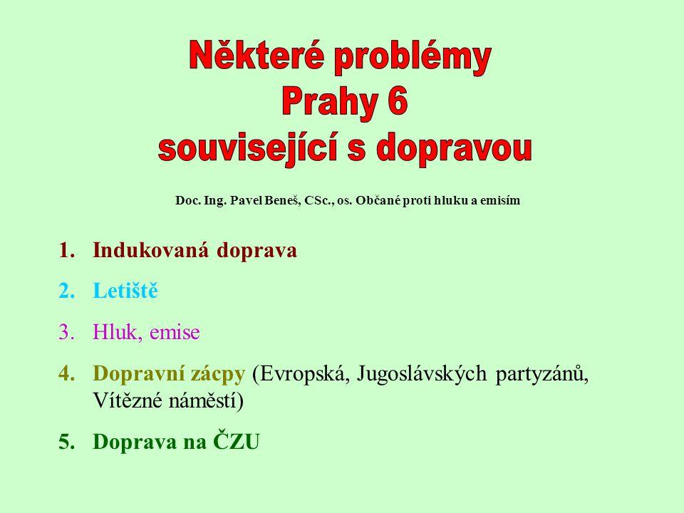 Doc. Ing. Pavel Beneš, CSc., os. Občané proti hluku a emisím