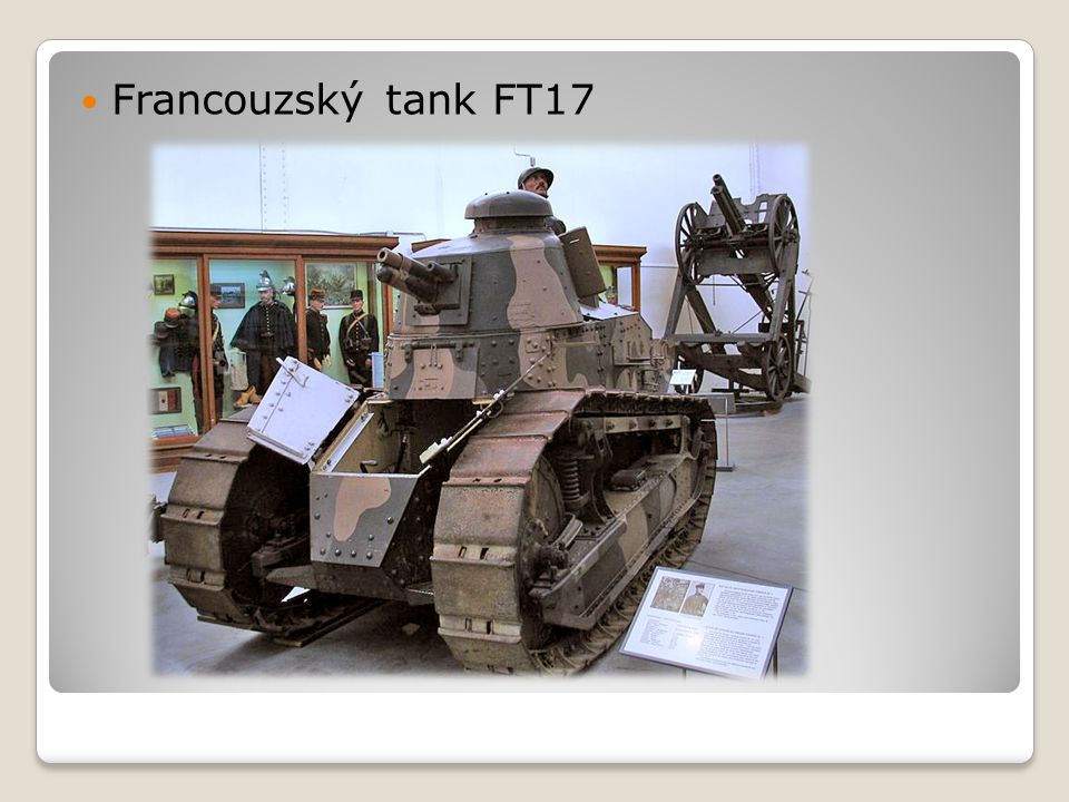 Francouzský tank FT17