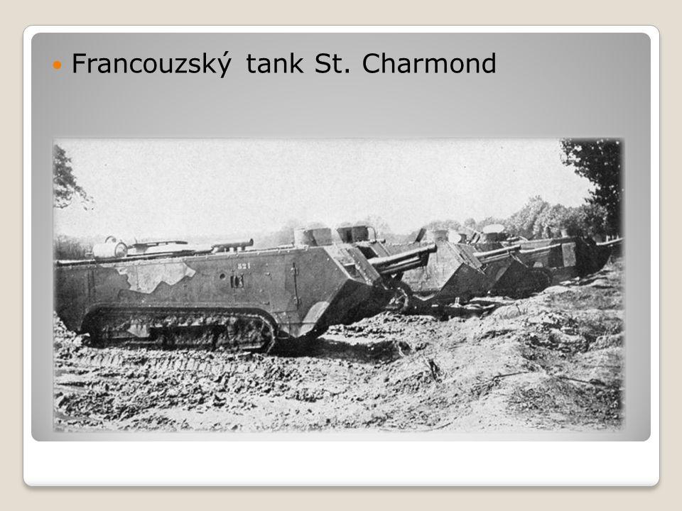 Francouzský tank St. Charmond