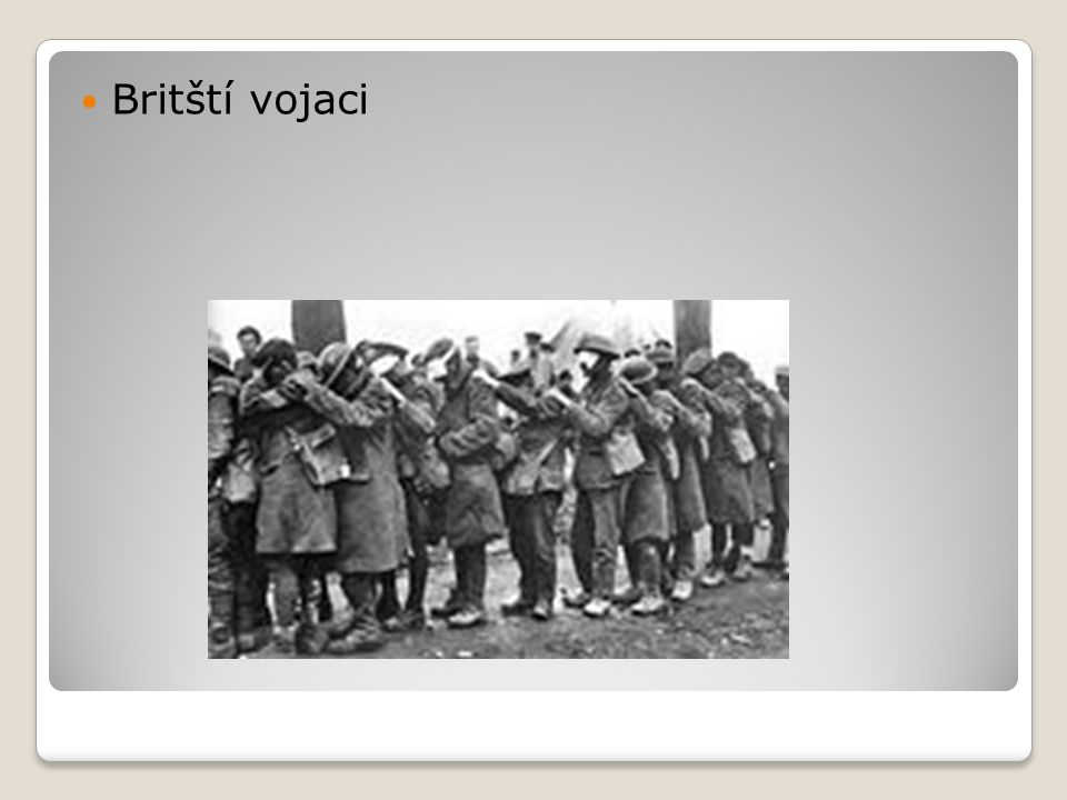 Britští vojaci