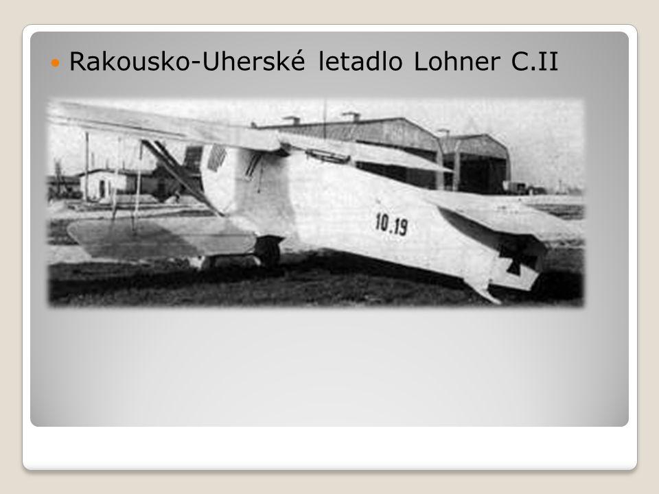 Rakousko-Uherské letadlo Lohner C.II