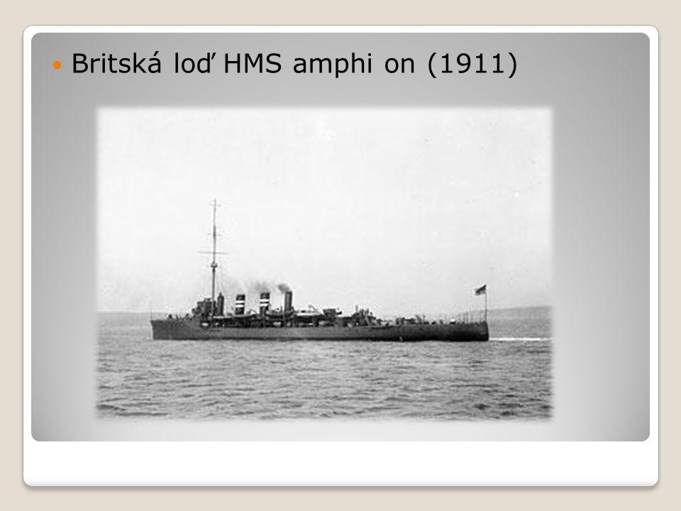 Britská loď HMS amphi on (1911)