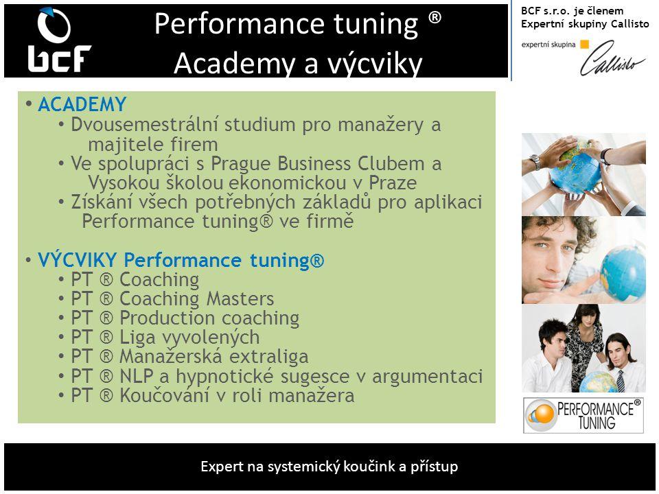 Performance tuning ® Academy a výcviky