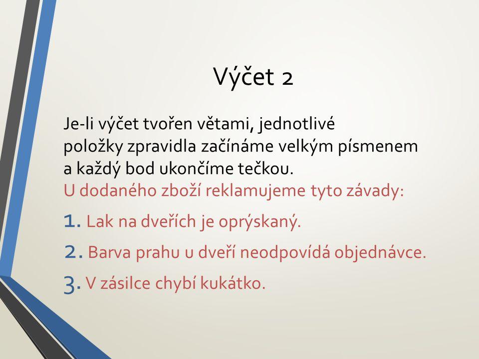 Výčet 2
