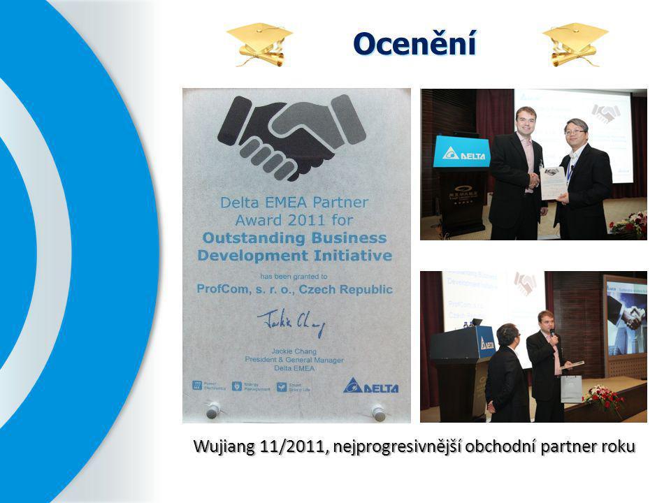 Wujiang 11/2011, nejprogresivnější obchodní partner roku