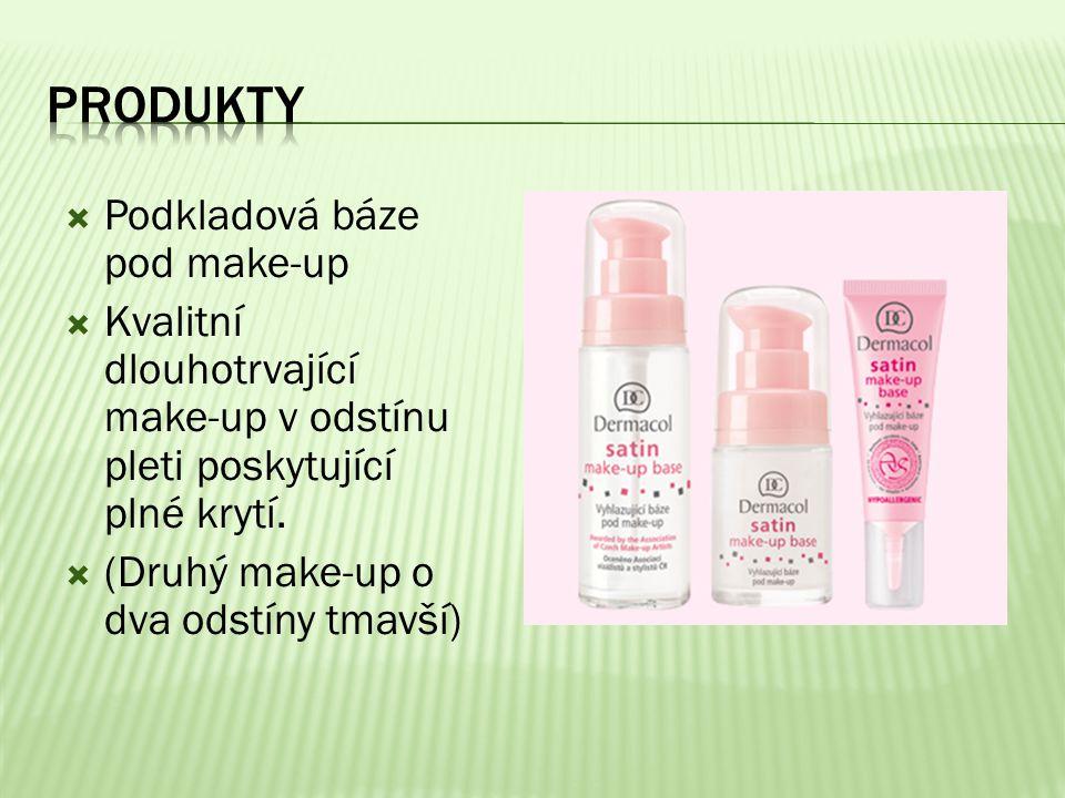 Produkty Podkladová báze pod make-up