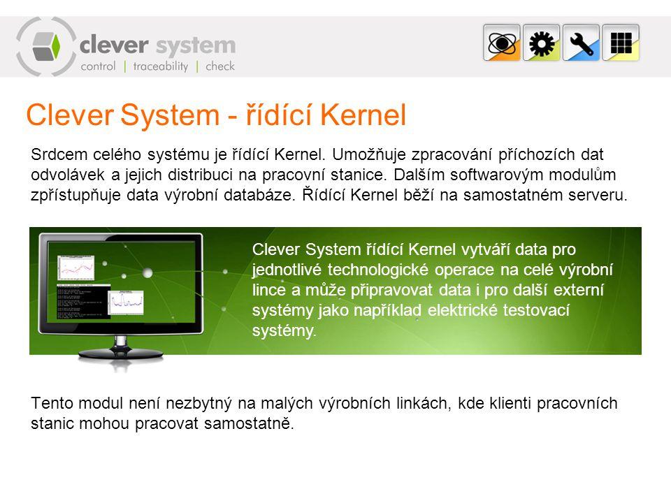 Clever System - řídící Kernel