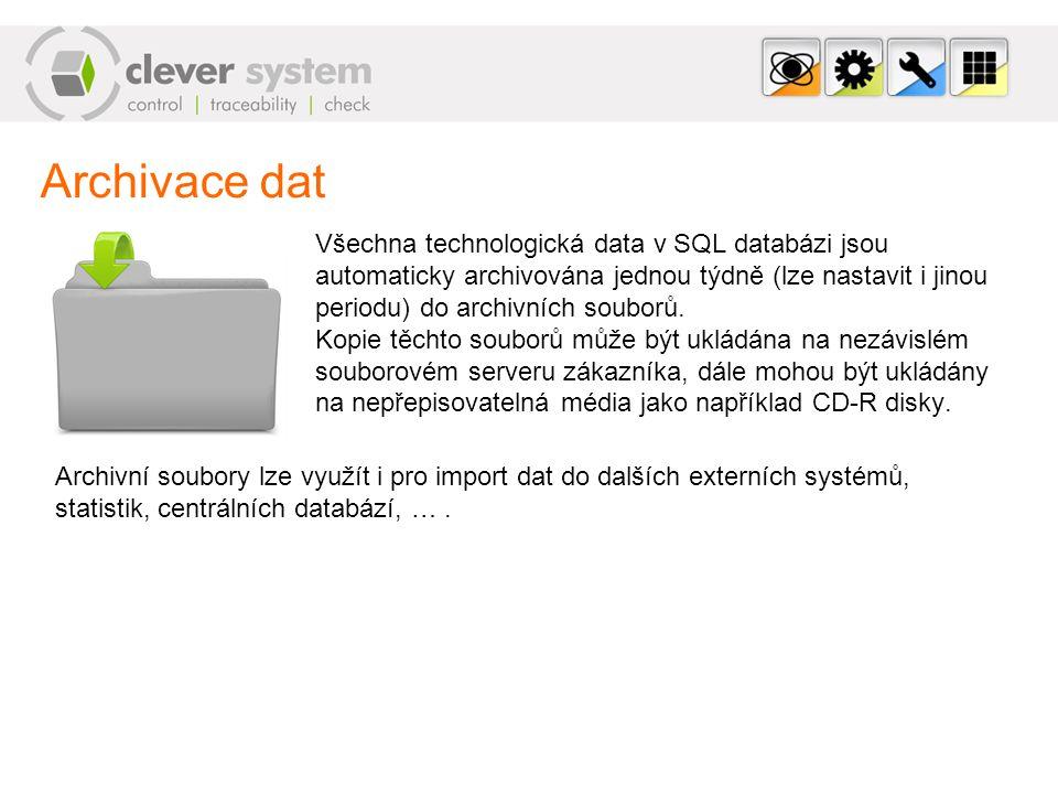 Archivace dat