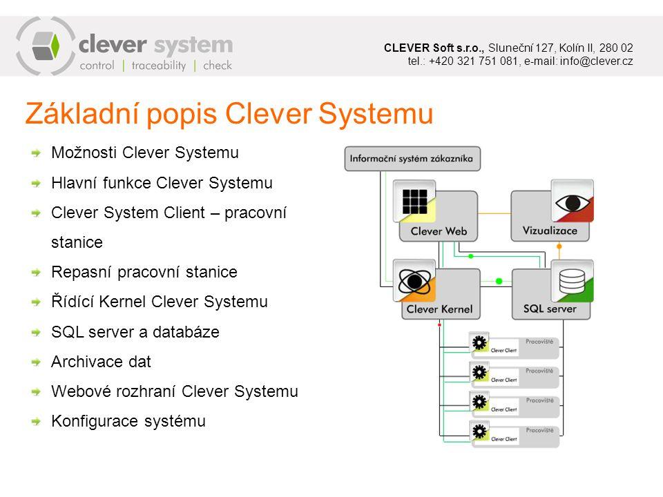 Základní popis Clever Systemu
