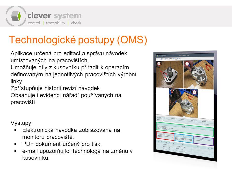 Technologické postupy (OMS)