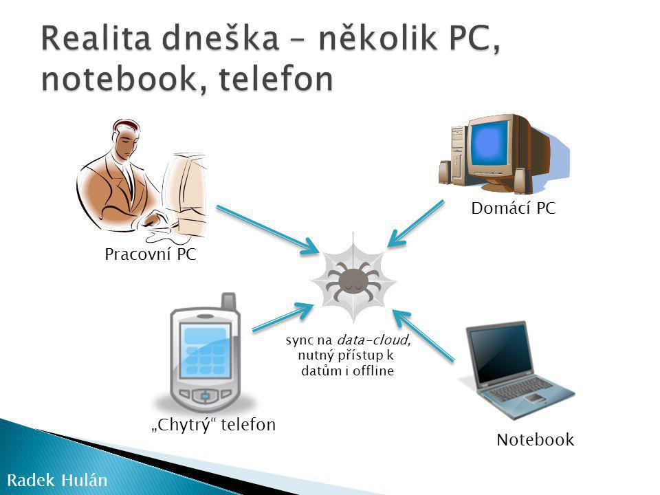 Realita dneška – několik PC, notebook, telefon