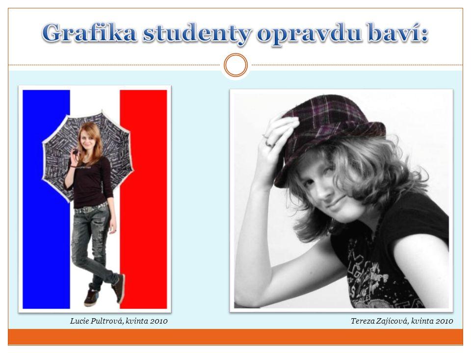 Grafika studenty opravdu baví: