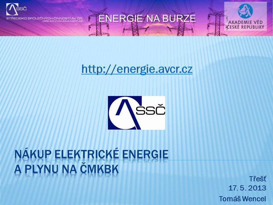 NÁKUP ELEKTRICKÉ ENERGIE A PLYNU NA ČMKBK