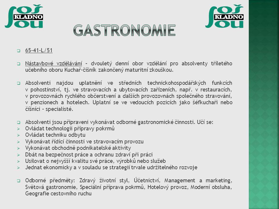 Gastronomie 65-41-L/51.
