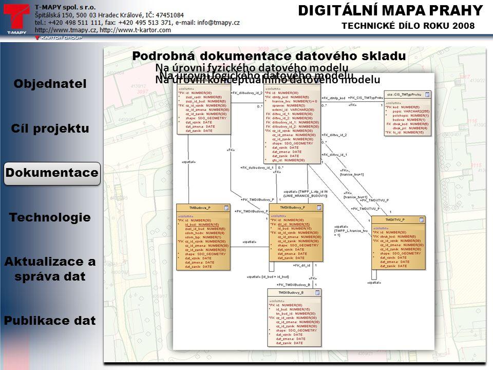 Podrobná dokumentace datového skladu
