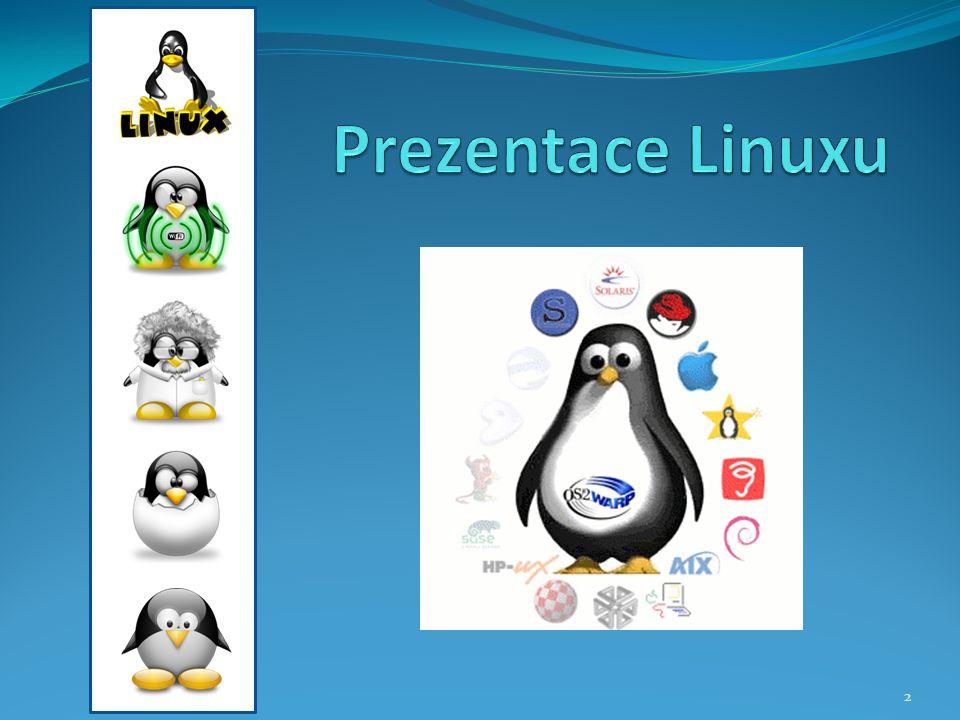 Prezentace Linuxu