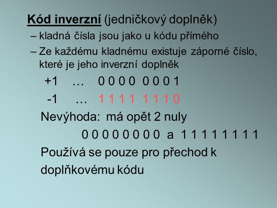 Kód inverzní (jedničkový doplněk)