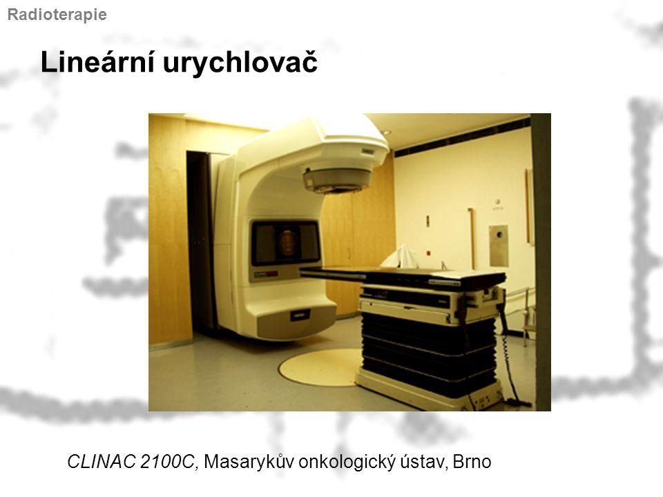 Lineární urychlovač CLINAC 2100C, Masarykův onkologický ústav, Brno
