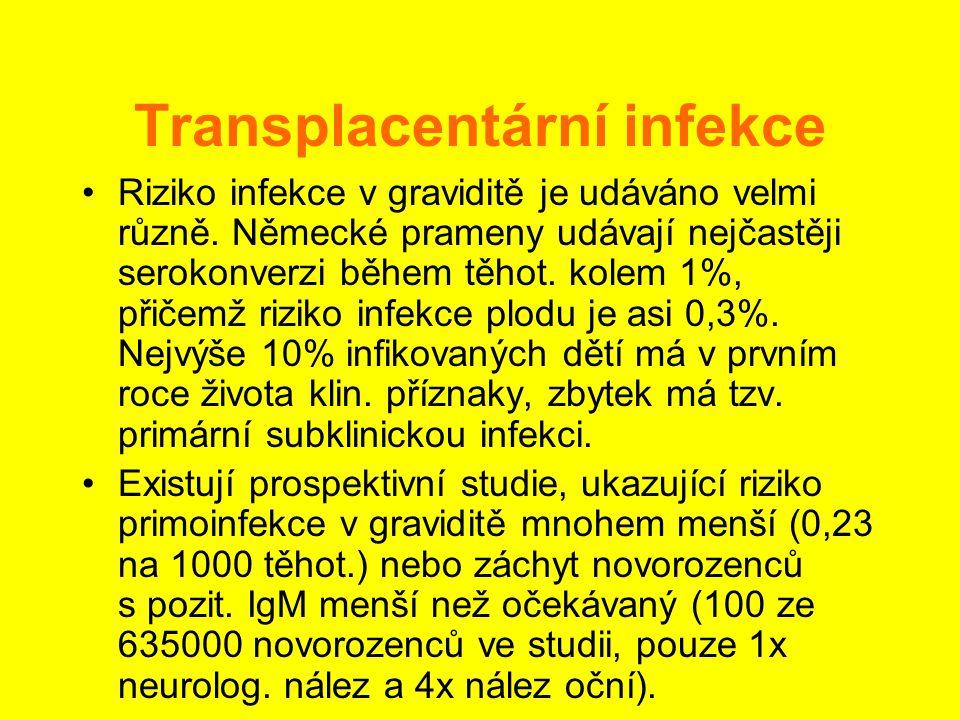Transplacentární infekce
