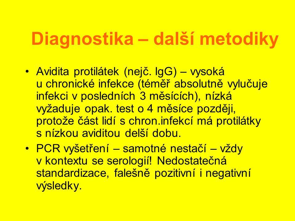 Diagnostika – další metodiky