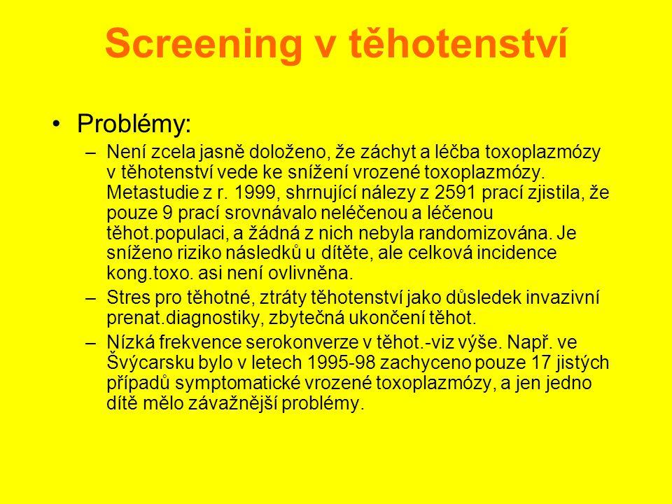 Screening v těhotenství