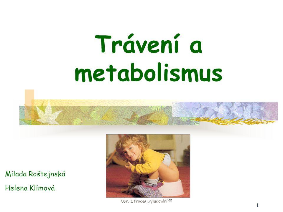 Trávení a metabolismus