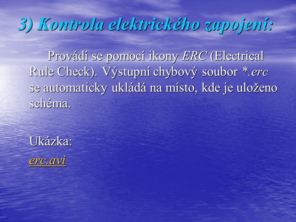 3) Kontrola elektrického zapojení: