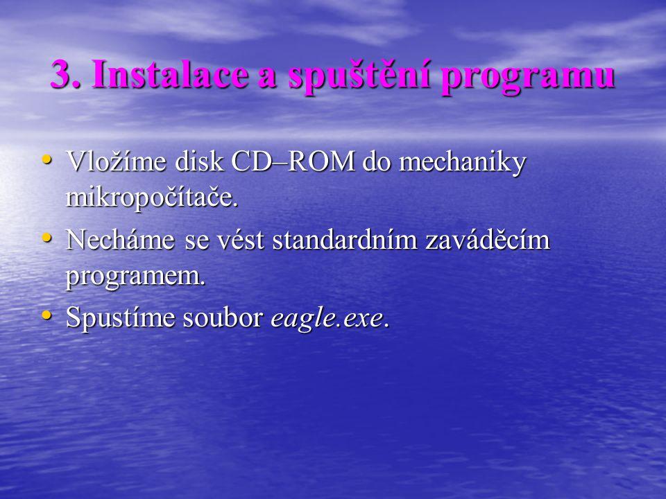 3. Instalace a spuštění programu