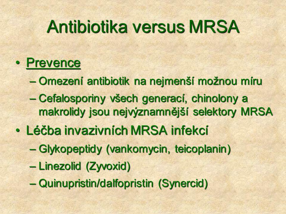 Antibiotika versus MRSA